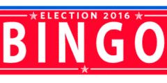 Clinton Trump bingo - bingomeesters.nl